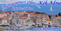 Horvátországi apartmanok olcsóbban… – Kék Adria