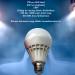 7W-os, energiatakarékos LED izzó