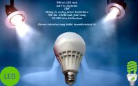 9W-os, energiatakarékos LED izzó