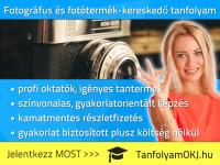 Fotográfus és fotótermék-kereskedő OKJ-s tanfolyam Budapesten