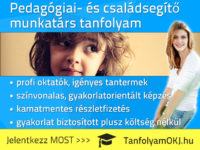 Pedagógiai- és családsegítő munkatárs OKJ-s tanfolyam Budapesten