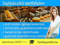 Sajtkészítő OKJ-s tanfolyam Budapesten